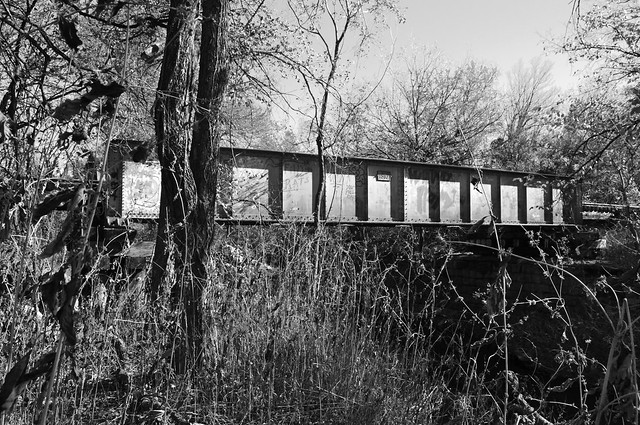 Pony girder railroad bridge over cottonwood creek allen Home and garden show allen tx