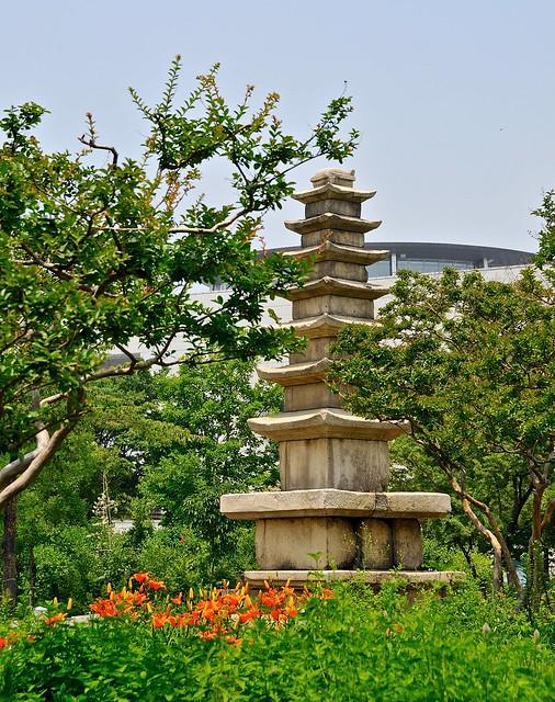 Pagoda at museum