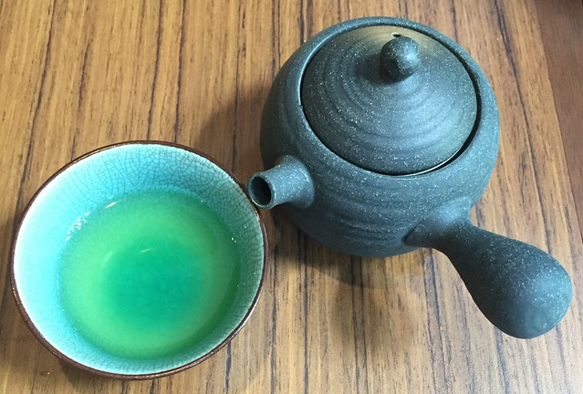 Green Tea at Marusaya