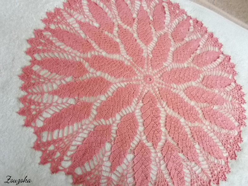 terítő, tablecloth, crochet (2)