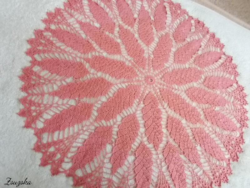 terítő, tablecloth, crochet (2)