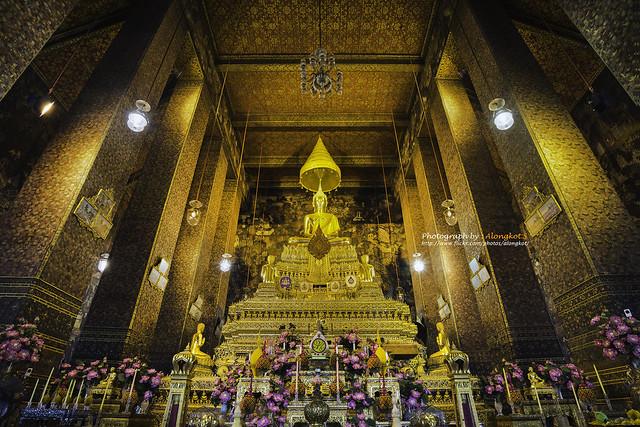 Thailand, Bangkok - Wat Pho (Temple)