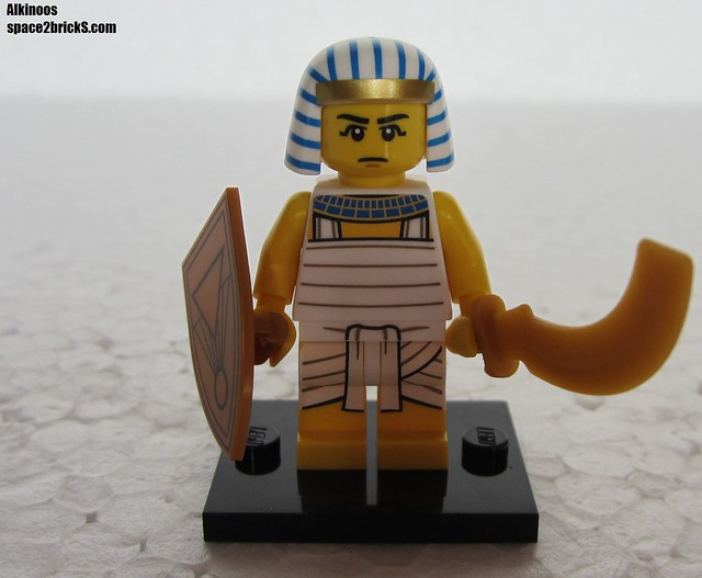 Lego Minifig série 13 Egyptian soldier p1