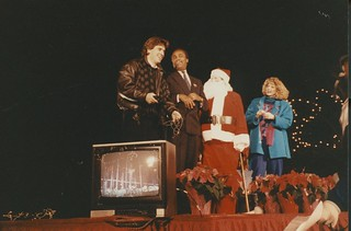 Winterfest Opening Ceremony at Seattle Center, 1989