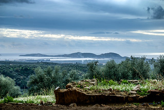 View from King Nestor's Pylos