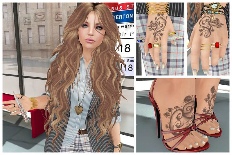 7DS, 7 Deadly Skins, 7 Deadly s{K}ins, Koketka, Ikon, Soonsiki, Cosmetic Fair,  A:S:S, Addams, Essenz, Yummy, OXI, RE, Realevil, Real Evil, Babydoll, Nikotin, LeRawr, Second Life, Momma's Style, JenJen Sommerfleck