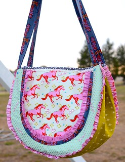 Cotton and Steel Carnival Bag