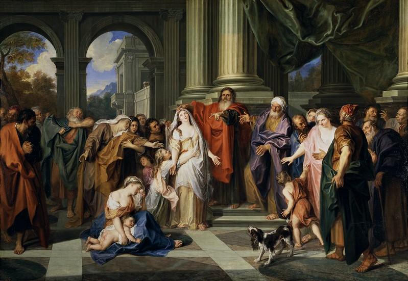 Antoine Coypel - Susannah accused of adultery (c.1696)
