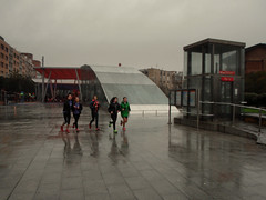 Y llueve, y lueve, y lueve y no para de llover... en Algorta
