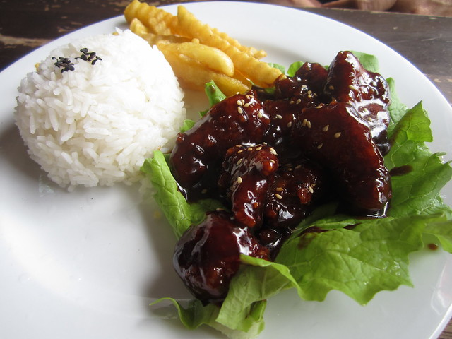 Fish Culture Hoisin chicken rice