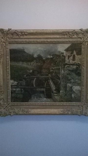 Courbet, Le moulin à papier