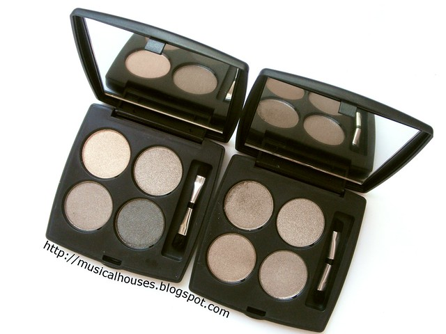 Coastal Scents Haul Eyeshadow Quads Taupes Neutrals