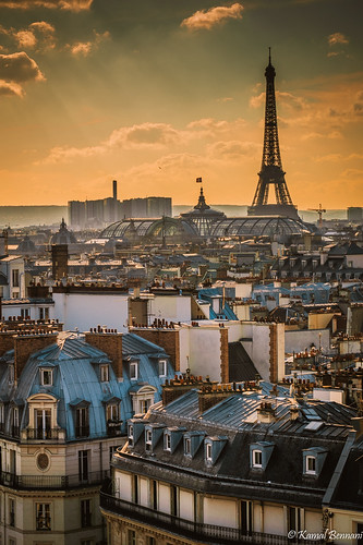 light sunset sky paris france clouds cityscape eiffeltower toureiffel greatphotographers