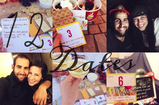 12 dates valentine's day idea