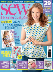 Sew magazine Feb 2015