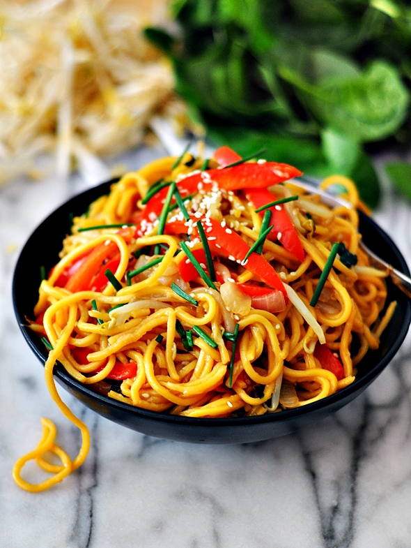 Speedy Vegetables Teriyaki Noodles (A Vegetarian Friendly Recipe)