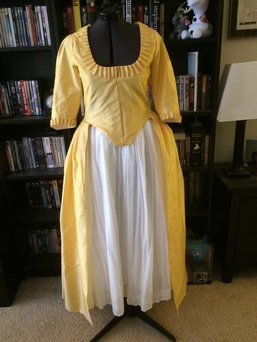 Yellow Silk Anglaise