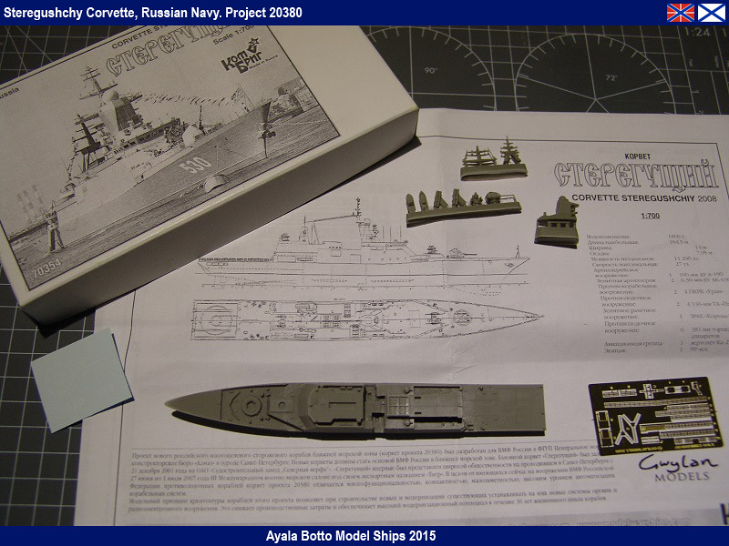 Corvette Russe Steregushchy 530, Project 20380 - Gwylan Models / Combrig 1/700 16437427970_8f8e7a5d3c_b