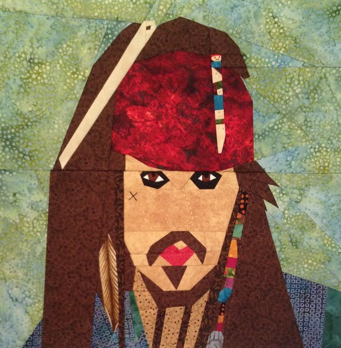 Jack Sparrow in fabric