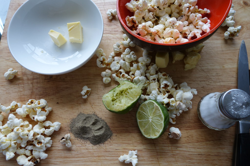 Kampot Pepper Popcorn with Lime