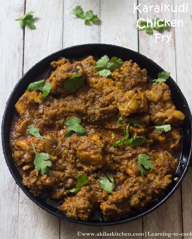 Karaikudi chicken masala