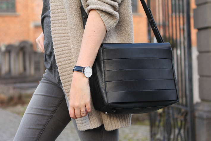 and other stories handbag, daniel wellington watch