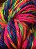 Radioactive Rainbow BFL Handspun and Navajo plied