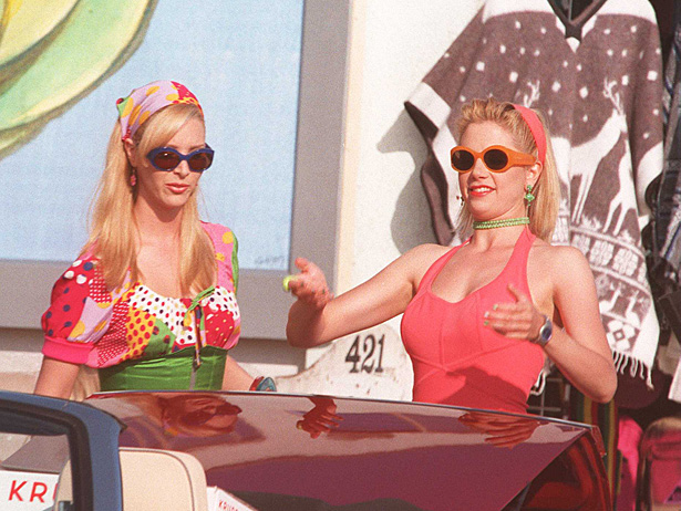 romy and michele car