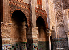 The Madersa el-Attarine. Fez, Morocco
