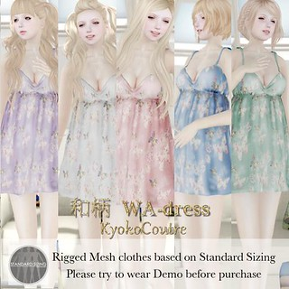 KC*M No.07[WA-dress]