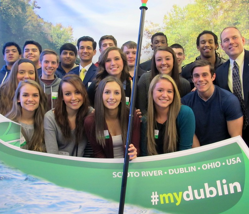 2015 State of the City - Scioto River