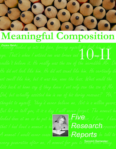 Character Ink Product Focus: Meaningful Composition 10-II