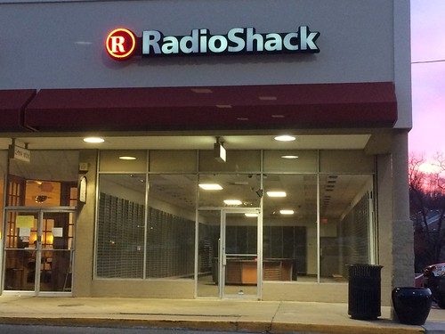 Empty Radio Shack store