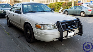 Victoria Police Unmarked Crown Victoria
