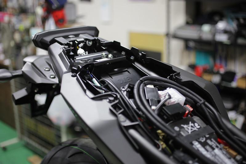 MT-09 新車整備