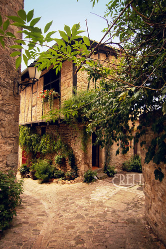 Bruniquel - Medieval house