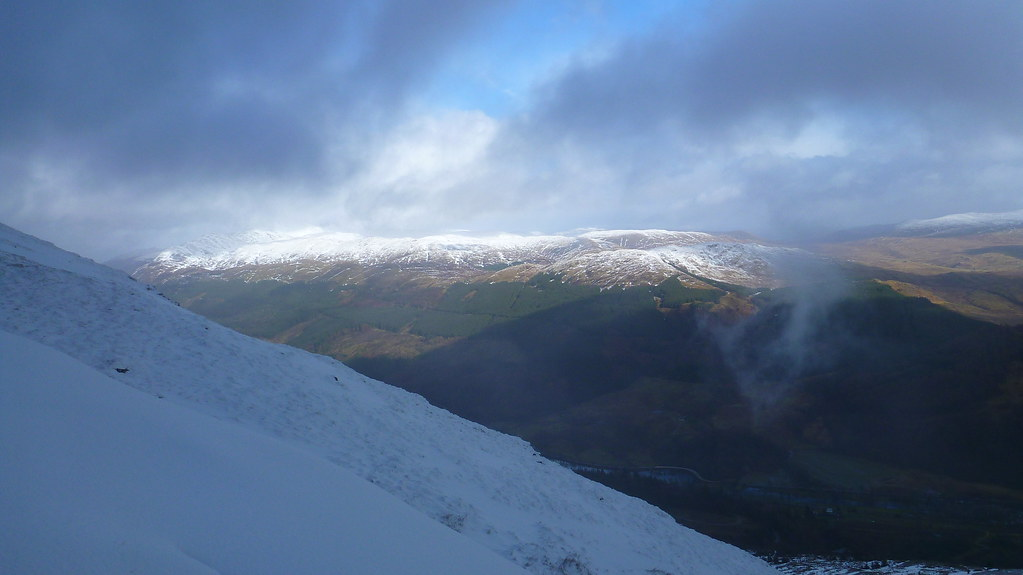 pass of leny, loch lubnaig, southern highlands, trossachs, ben ledi, stank glen, garbh uisge