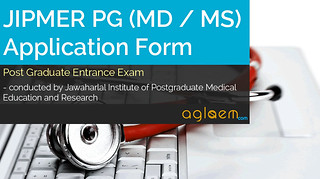 JIPMER PG (MD / MS) Application Form 2016