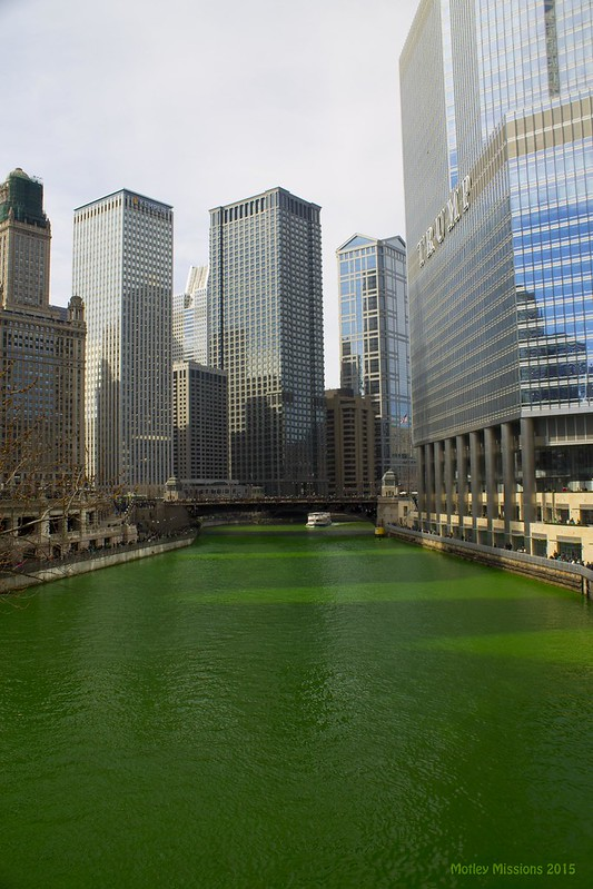 view from michigan ave bridge