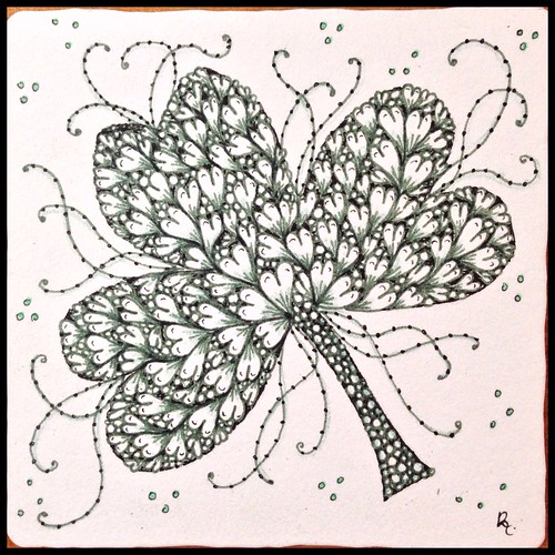Zentangle 88, for The Diva's Weekly Challenge #209