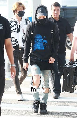 Big Bang - Incheon Airport - 07aug2015 - fnstar - 06