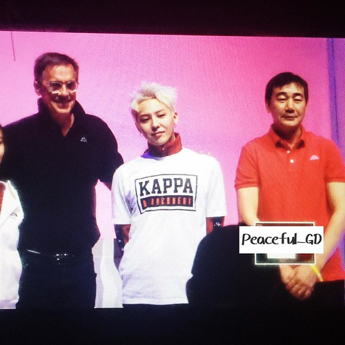 G-Dragon - Kappa 100th Anniversary Event - 26apr2016 - Peaceful__GD - 03 (Custom)