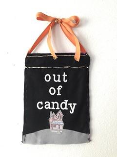 Halloween: Trick or Treat Door Sign pt. 2