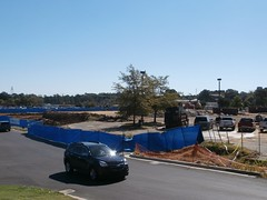 Hernando Millennium Kroger site, view from the hill, October 22, 2016