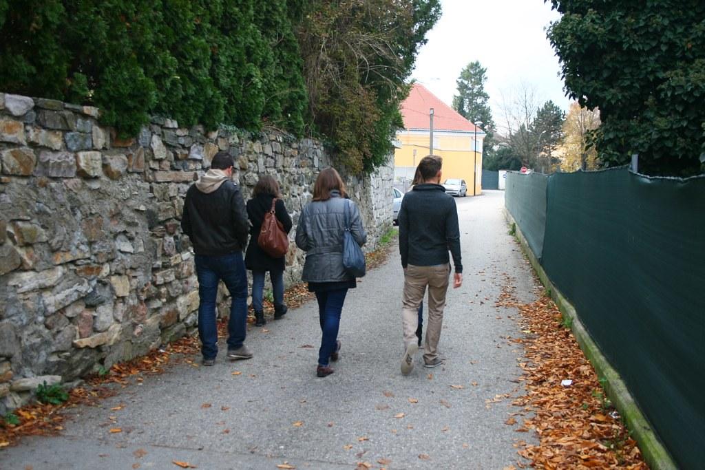 auf dem Weg zum Nikolaihof in Mautern © diekremserin