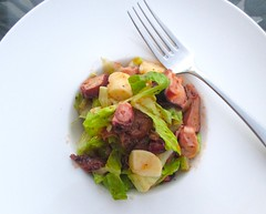 NO COOK OCTOPUS SALAD