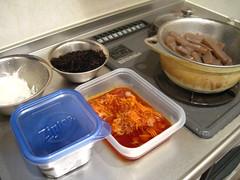 野菜の下ごしらえ&調理3