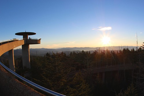sun tower sunrise nps observatory overlook clingmansdome greatsmokymountains top252014runnerup deaftalent deafoutsidetalent deafoutdoortalent