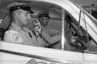 Patrolman on the radio - Tallahassee