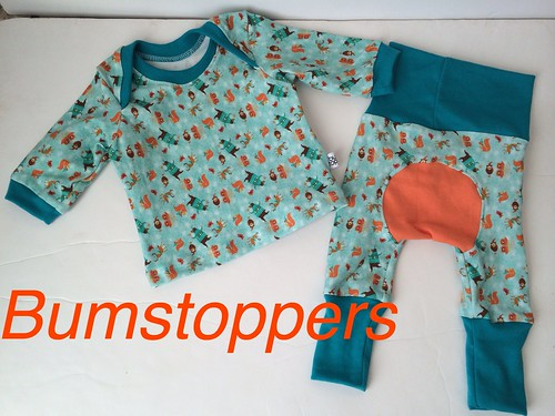 Bumstoppers BumSpot Pants 0-6 months 0-3 Reindeer